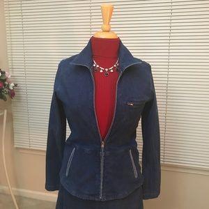Ellen Tracey jean jacket